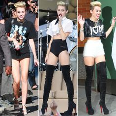 No Pants, No Problem For Miley Cyrus