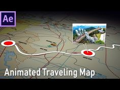 This is After Effects tutorial about How to make animated travel map. Motion Design, Cut Out Animation, Adobe After Effects Tutorials, After Effect Tutorial, Character Concept, 3d Character, How To Make Animations, Animation Tutorial, Found Object Art