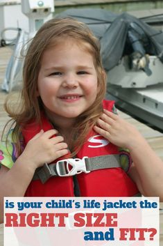 Finding the right life jacket size for kids - and what to do when they're in between sizes. Swimming Gear, Swimming Equipment, Swim Training, Boat Safety, Swim Caps, Swim Shop, Boater, Child Life, Children