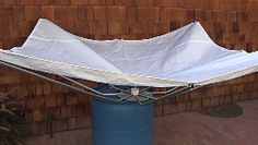 RainSaucers - Free Standing, stand alone, Rainwater Harvesting w/ any Rain Barrel , No gutters, Funnel collector, DIY Kit