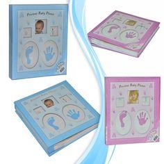 Yeni Doğan Bebek Albümü (120 Fotograflık)-Mavi