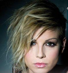 Love this hair! Emma Marrone...