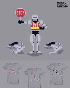 Robo crossing guard!