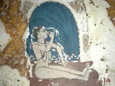 "My yoga novel ""Ashram"" draws on ancient wisdom and practice. notice the prayer bead necklace. Yoga India, Dream Catcher Art, Types Of Meditation, Yoga Anatomy, India Art, Yoga Art, Indian Paintings, Gods And Goddesses, Yoga Inspiration"