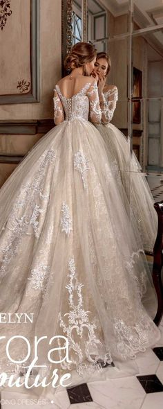 Ball gown, wedding dress, EVELYN, wedding dresses, bridal dress, bridal gown #weddings #dresses #weddingdresses