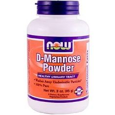 D-mannose powder - apparently an amazing alternative to anti-biotics for UTIs. I must try sometime.