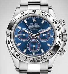Rolex Daytona White Gold Blue Dial Baselworld 2016 Ref 116509