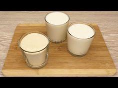 Sklenici krupice a 2 sklenice KEFIRU! Lahodný recept. Jednoduché a levné. Dovolená každý den # 102 - YouTube Egg Recipes, Sweet Recipes, Cake Recipes, Dessert Recipes, Kefir, Ice Cream Recipes, Biscotti, Glass Of Milk, Food And Drink