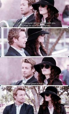 funny, the mentalist, and tv image