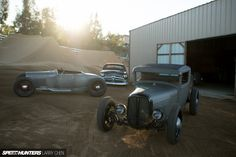 Keeping the spirit of the traditional hot rod alive: Heath Pinter's '28Ford.