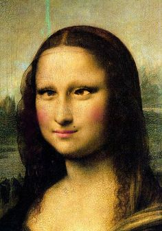 Cross Eyed Mona by Stars*Go*Blue, via Flickr
