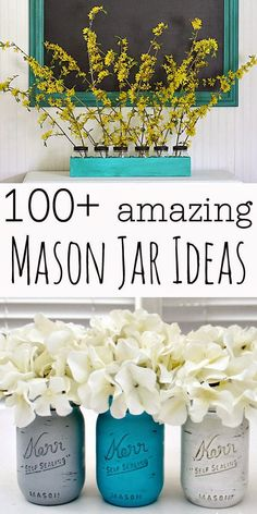 From great drinks to awesome craft ideas, everything looks better in a mason jar – which is why today I'm hosting a Mason Jar Crafts ...