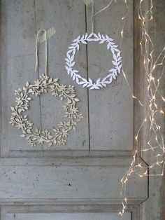 Les inspirations de couronnes de Noël