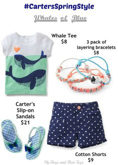 Celebrate Spring with #CartersSpringStyle Sale with up to 50% off their Spring Collection + grab this coupon for an additional 20% off in store! www.myboysandtheirtoys.com