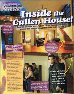 Inside the Cullen House
