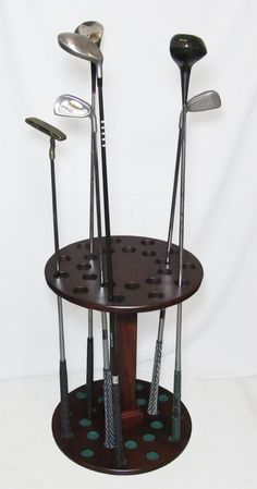 golf club rack! #golf #lorisgolfshoppe