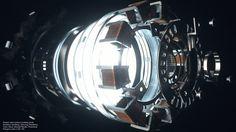 Arc Reactor by Artem Paramonov, via Behance Batman Universe, Marvel Cinematic Universe, Iron Man Arc Reactor, Iron Man Art, Avengers Team, Hard Surface Modeling, Fantasy Weapons, Marvel Avengers, Concept Art