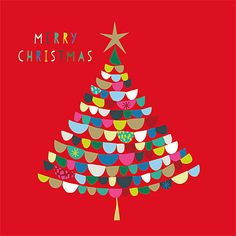 Buy Art File Foil Tree Charity Christmas Cards, Pack of Red from our Christmas Cards range at John Lewis & Partners. Christmas Tree Art, Christmas Design, Christmas Wishes, Christmas Holidays, Christmas Crafts, Merry Christmas, Charity Christmas Cards, Xmas Cards, Inflatable Christmas Decorations