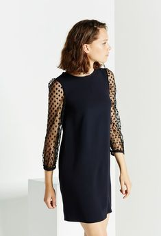 Robe de soirée, robe de fêtes: Claudie Pierlot robe plumetis
