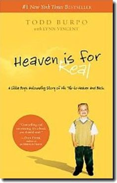 The book about Colton and his experience meeting Jesus when he was just 4 and was in surgery from a burst appendix. It's a true story not to be missed if you haven't already read the book. It is a faith building book.