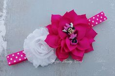 Diadema de minnie mouse. Diadema de Minnie. Cumpleaños de minnie mouse. Diadema…