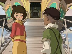 First time when Jinora saw Kai<<personally i didn't like the legend of korra and didn't watch the whole series, but i've gotta admit, this is adorable