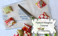 pattern weights tutorial, fat quarter friday,