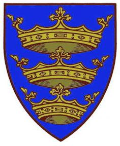 The Coat of Arms of the City of Kingstown upon Hull. Official blazon is azure three ducal coronets in pale Or Yorkshire Towns, East Yorkshire, Hull England, England Uk, Kingston Upon Hull, Hull City, Coat Of Arms, East Coast, History