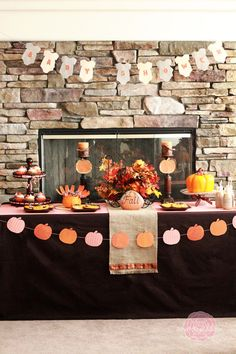 Little Pumpkin Baby Shower with A to Zebra Celebrations