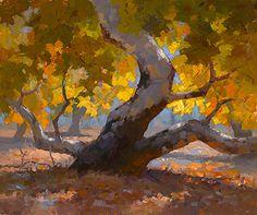 Fallen Leaves by Jim Wodark Oil ~ 20 x 24