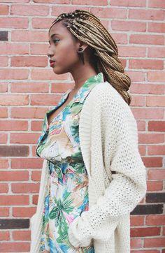 Blonde (just highlights, not all)? @genzabar  @Simonesstyles