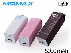 Momax iPower Milk+ External Battery 5000mAh