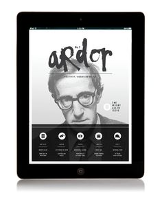 // ARTS CULTURE MAGAZINE // #app design