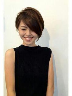 Cute Hairstyles For Short Hair, Short Hair Cuts, Japanese Short Hairstyle, Headband Hairstyles, Medium Hair Styles, Short Hair Styles, Pelo Pixie, Lolo, Asian Hair