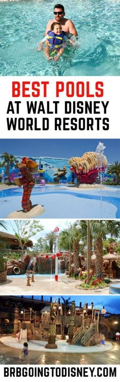 Summer vacation planning at Walt Disney World? Make sure you choose a Disney World resort with an AMAZING pool! Check out the Best Pools at Walt Disney World Resorts! Disney World Vacation Disney World Vacation Planning, Walt Disney World Vacations, Disney Planning, Disney Parks, Vacation Ideas, Disney World Tips And Tricks, Disney Tips, Disney Fun, Disney Travel