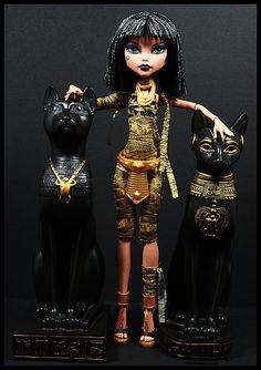 Egyptian Princess by DollsinDystopia, via Flickr