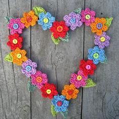 Valentine sweet heart crochet pattern