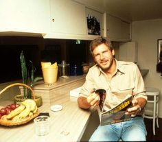 "superseventies: "" At home with Harrison Ford, 1978 """