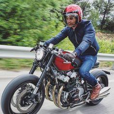 1981 Honda CB 750 Cafe Racer - Nicolas Motors #riding #caferacer #motorcycles #motos | caferacerpasion.com