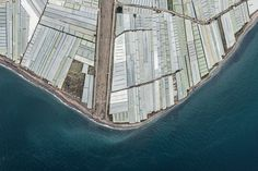 Amazing Aerial Photos of Greenhouses Blanketing the Spanish Landscape