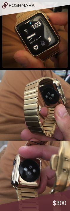 Apple Watch 42' gold bands I'm selling my gold Apple Watch series one for $200 or best offer . Not in a rush to sell apple Accessories Watches
