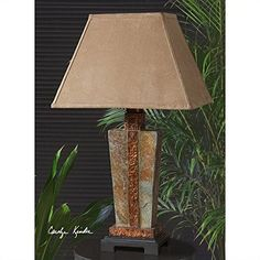 Uttermost 263221 Slate Accent Lamp -- Detailed information can be found by clicking on the VISIT button