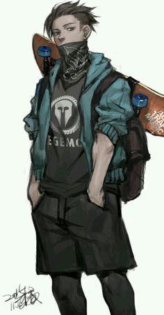 Pin by sameh abyo on character design in 2019 anime erkek çocuklar, anime k Character Drawing, Character Concept, Concept Art, Boy Art, Art Girl, Arte Dope, Anime Lindo, Image Manga, Manga Boy