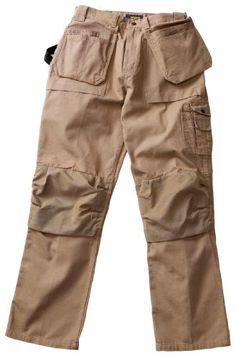 Blaklader Workwear Bantam Pant with Utility Pockets 40-Inch Waist 30-Inch Length 8-Ounce Cotton - Khaki