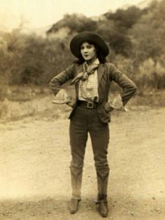 You gotta love the vintage cowgirls!