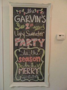 a reminder that one day i want to host an ugly sweater party - i have soooo many!