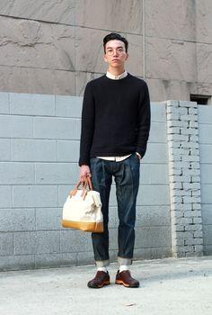 모델 도상우 & 김필수 스트릿패션 ( 87mm / 87라인 / 신사동 가로수길) : 네이버 블로그