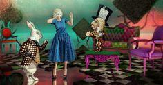 https://flic.kr/p/RsV9NT   Alice   Dress : Belle Epoque – Violeta.  At Shiny Shabby Pumps : Maubray – Lola Wedges.  At Shiny Shabby.  Mesh head : Catwa – Catya (for bento).   New in store. Skin : Glam Affair – Alexa applier for Catwa.  At Kustom9. Hair : Truth – Miriam.  New in store.  Décor : Vita's Boudoir :  Boudoir Alice gacha.  At Oh My Gacha! Vita's Boudoir : Wonderland Trees.