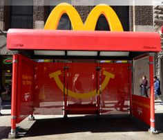 McDonald's- Bus Shelter