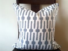 18x18 pillow in 'Links' by Annie Selkeslate by HouseofPillows, $45.00